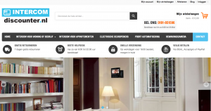 Intercomdiscounter nieuwe website