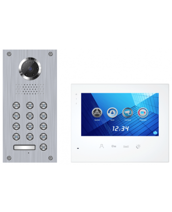 Futuro Intercom 2 draads toetsenbord foto en video opname