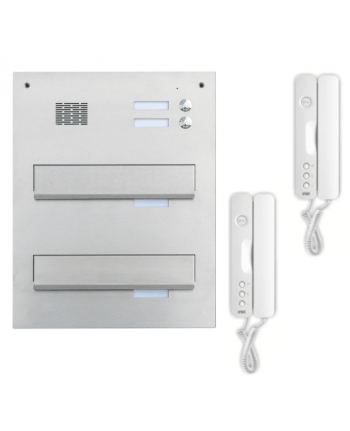 Urmet Signo Audio intercom brievenbus 2 appartementen