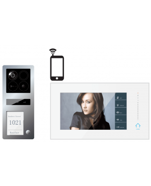 Guardian IP  2 draads Intercom met foto en video opname functie