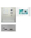 Futuro video intercom met brievenbus inbouw